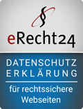 eRecht 24 Siegel - Datenschutzerklärung