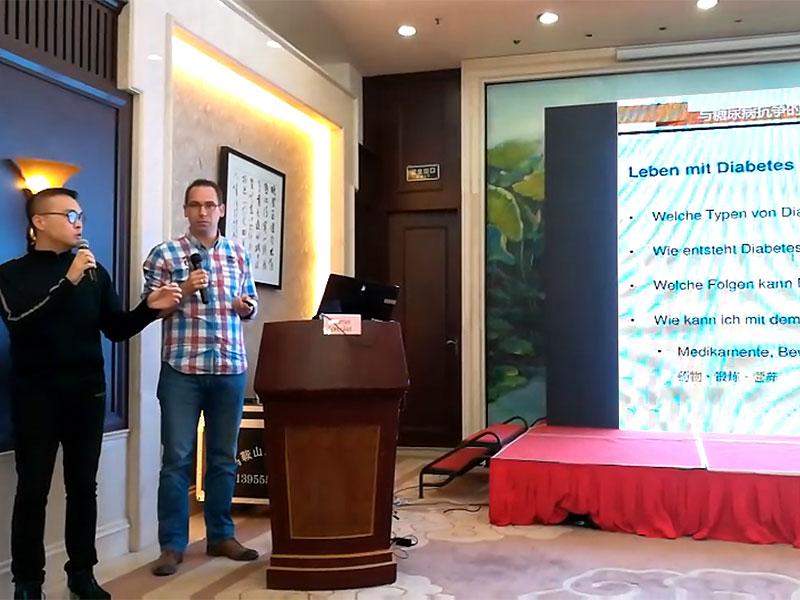 """Thomas Sprenkel hielt einen Vortrag zum Thema """"Leben mit Diabetes"""""""